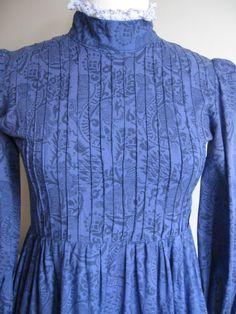 Vintage Laura Ashley 1970's Prairie Dress - UK Size 12 (Modern size 10) | eBay
