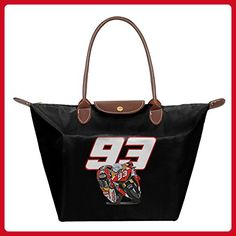 Marc Marquez World Champion Women's Fashion Waterproof Hobo Bag Large Tote Shoulder Handbag - Totes (*Amazon Partner-Link)