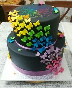 #cake #coldplay #butterfly #Rainbow