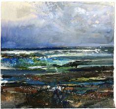 Bottling seals, gale fore - Kurt Jackson