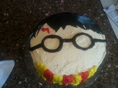 Simple Harry Potter cake