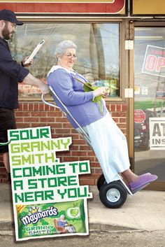 Maynards Granny Smith: Granny on Trolley by The Hive, Toronto, Canada