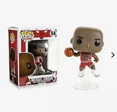 IN STOCK NOW!!! Funko POP Michael Jordan Rookie uniform #56 Chicago Bulls