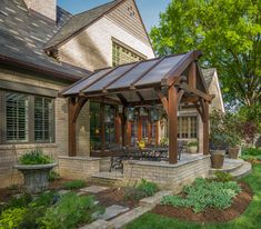 Outdoor Living | Timber Frame and Post and Beam porches