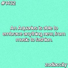 Embrace yes, afford.. Not usually. #Aquarius <3