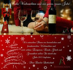 Frohe Weihnachten! Weingut Rothschädl Alcoholic Drinks, Glass, Wine, Christmas, Nice Asses, Drinkware, Corning Glass, Liquor Drinks, Alcoholic Beverages