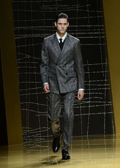 FW13 Zegna | fall trends for men - double take | mens double breasted suit | menswear | mens style | mens fashion