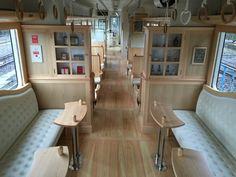 """くま川鉄道 - カフェトレイン / Kumagawa Rail Road """"Cafe Train"""", Kumamoto"""