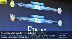 2014 UEFA Champions League Semi-final Draw #UCL