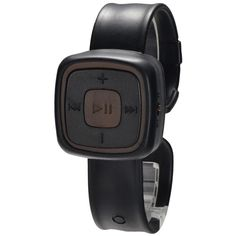 New Black MP3 Player Micro SD/TF Slot Watch #fashionwatch #musicplayer