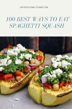 Did you grow a ton of spaghetti squash in your garden this year? Here are some tips on how to grow spaghetti squash, as well as how to preserve it and cook it. Plus - 100 new recipes for you to try! Boring dinners no more. Easy Healthy Recipes, New Recipes, Whole Food Recipes, Dinner Recipes, Easy Meals, Favorite Recipes, Cooking Recipes, Vegan Recipes, Growing Spaghetti Squash