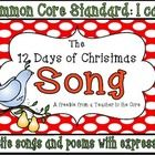 Common Core Standard: I can recite songs and poems with expression!Singing this song with my class is a highlight each year.  This year our song ...