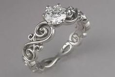 Really want infinity somewhere on my ring like this...