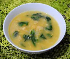 Receitas do Boi: Sopa de Grão-de-Bico com Espinafre