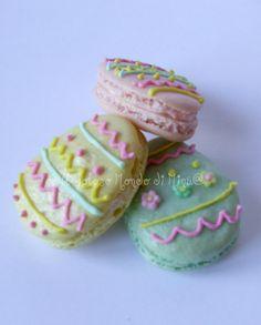 Il Goloso Mondo di Minu': Pasqua si avvicina: macarons e cake pops in festa!