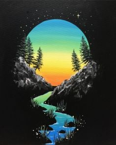 Join us for a Paint Nite event Sat Aug 2018 at 13603 St Albert Trail St. Alb… Join us for a Paint Nite event Sat Aug 2018 at 13603 St Albert Trail St. Purchase your tickets online to reserve a fun night out! Black Canvas Paintings, Acrylic Painting Canvas, Acrylic Art, Black Canvas Art, Art Paintings, Painting Art, Acrylic Painting Inspiration, Fire Painting, Canvas Painting Tutorials