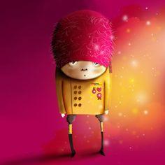 Illustration Pink Elephant /illustration /vector /illustratorAdobe /Painter /mouse /illustrator
