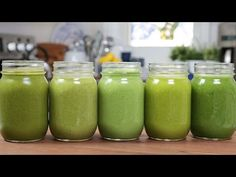 Green Smoothie Recipes: 21 Of The Best Tasting Green Smoothies! Energy Smoothies, Healthy Green Smoothies, Healthy Breakfast Smoothies, Green Smoothie Recipes, Smoothie Drinks, Smoothie Bowl, Smoothie Legume, Healthy Shakes, Calories