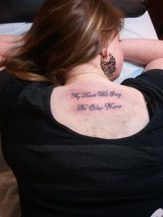 Tattoo-My Heart Will Sing No Other Name