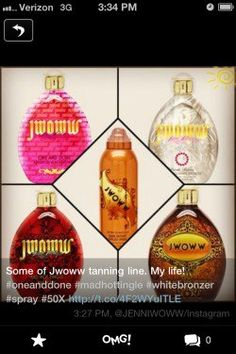 It looks like Jersey Shore's very own JWoww is creating her own line of tanning products. Want to know what else is she and your other favorite celebs are working on? Click here to get the latest.