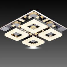 "umeia""¢ modern crystal flush mount 1 light transparent crystal"