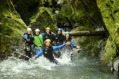 Queenstown Canyoning Adventure Including Lunch This tour offers you the exciting multi-sport adventure of canyoning! An awesome activity where you can jump, swim, slide, climb and abseil your way through some of the most naturally stunning scenery in New Zealand.This day tour will give you the opportunity to try the new and exciting sport of Canyoning! No previous experience is required as your experienced and qualified guide will be with you every step of the way to teach you...