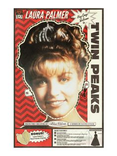 Laura Palmer, Twin Peaks Poster Mask