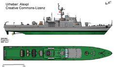 Minensuch- und Räumschiff Projekt 89.1 - Kondor I Klasse
