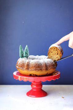 Maple Gingerbread Bundt Cake