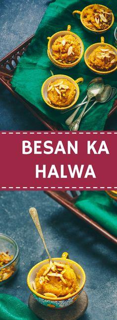 30 MINUTES GLUTEN FREE CHICKPEAS FLOUR PUDDING    or call it BESAN KA HALWA!!