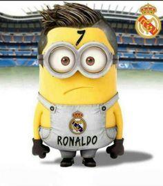 Minion hincha de Ronaldo Real Madrid | Imagenes y Frases para Facebook