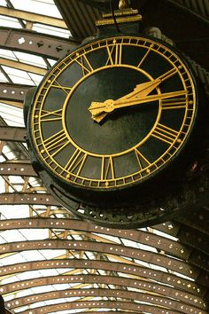 just a clock adds a lot! Unique Clocks, Cool Clocks, Big Clocks, Tick Tock Clock, Outdoor Clock, Father Time, Somewhere In Time, Time Stood Still, As Time Goes By