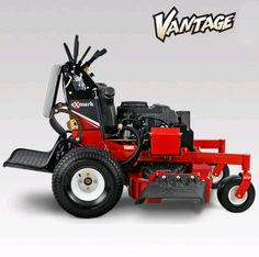 """Exmark Vantage S-series. Available with 36"""" to 60"""" deck sizes. The 52"""" and 60"""" decks are available with Kohler EFI engines for fuel savings."""