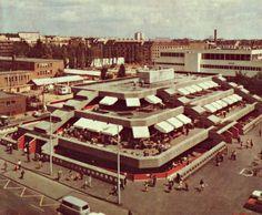 1970-es évek. A Fehérvári úti piac.