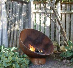 The Meridian Sculptural Firebowl by John T. Unger - John T. Unger Sculptural Firebowls
