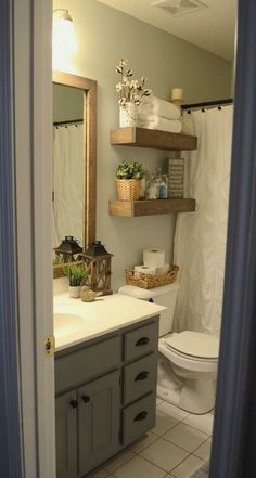 Farmhouse Small Bathroom Remodel and Decor Ideas (26)
