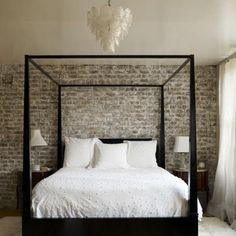 la belle vie. love the focal wall.