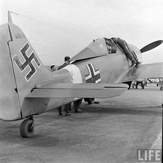 Fw 190 ( captured)