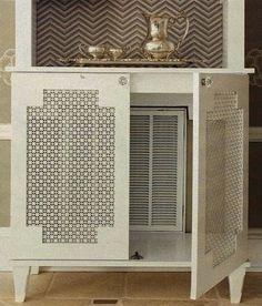 Image result for encastrer radiateur meuble cuisine