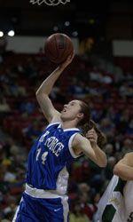 Air Force Academy - sports camp - girls basketball