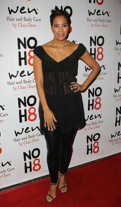 Daphne Wayans NOH8 4th Anniversary Party