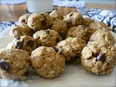 """No-Bake"" Peanut Butter Chocolate Chip Balls"
