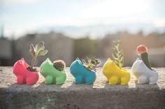 Mint est de retour en Stock!! Planteur de Bulbizarre, 3D imprimés, mignon, le meilleur cadeau, monster, geekery, maison & Jardin