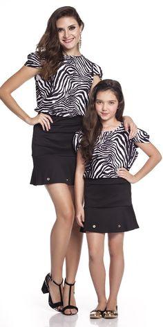 T-Shirt Zebra Adulto | OLIVIAS TAL MÃE TAL FILHA | Olivias