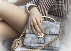 Gold on gold from Garance Dore's blog.