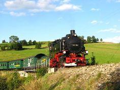 Die Fichtelbergbahn bei Neudorf (Photo: Tourismusverband Erzgebirge e.V./Tourismusverband Erzgebirge e.V.)