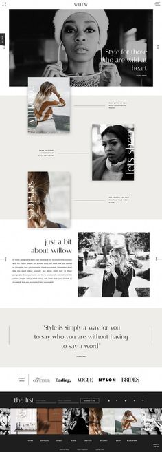 A Stylish and Chic Showit Website Template Design - Easy-to-Edit Website Templates for Creative Businesses, Showit WebsiteTemplate Shop, Modern and Bol - Website Design Inspiration, Fashion Website Design, Best Website Design, Portfolio Website Design, Website Design Layout, Blog Layout, Design Blog, Ux Design, Graphic Design