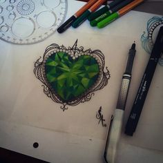 emerald tattoo - Google Search