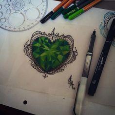 emerald tattoo - Google Search