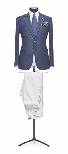 Blue jacket Plain http://www.tailormadelondon.com/shop/tailored-jacket-fabric-7442-plain-blue/